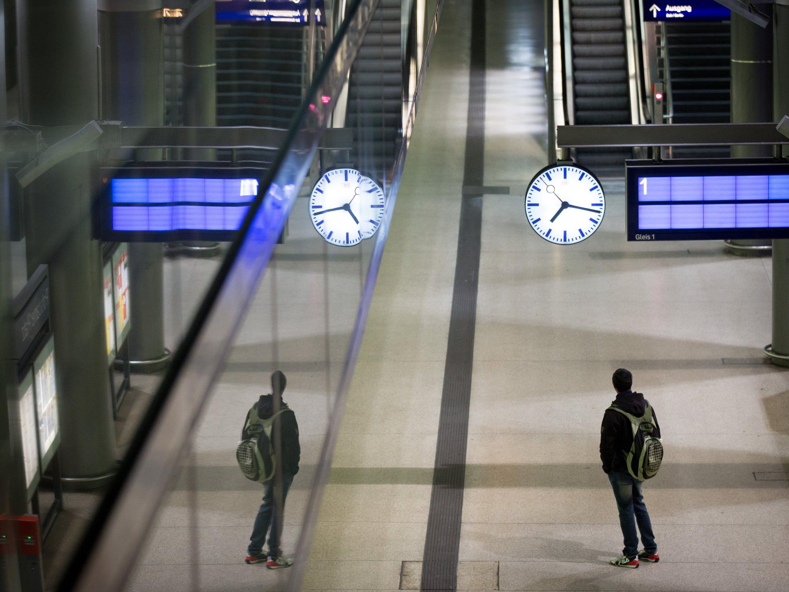 Der deutsche Lokführerstreik soll Österreich kaum betreffen.