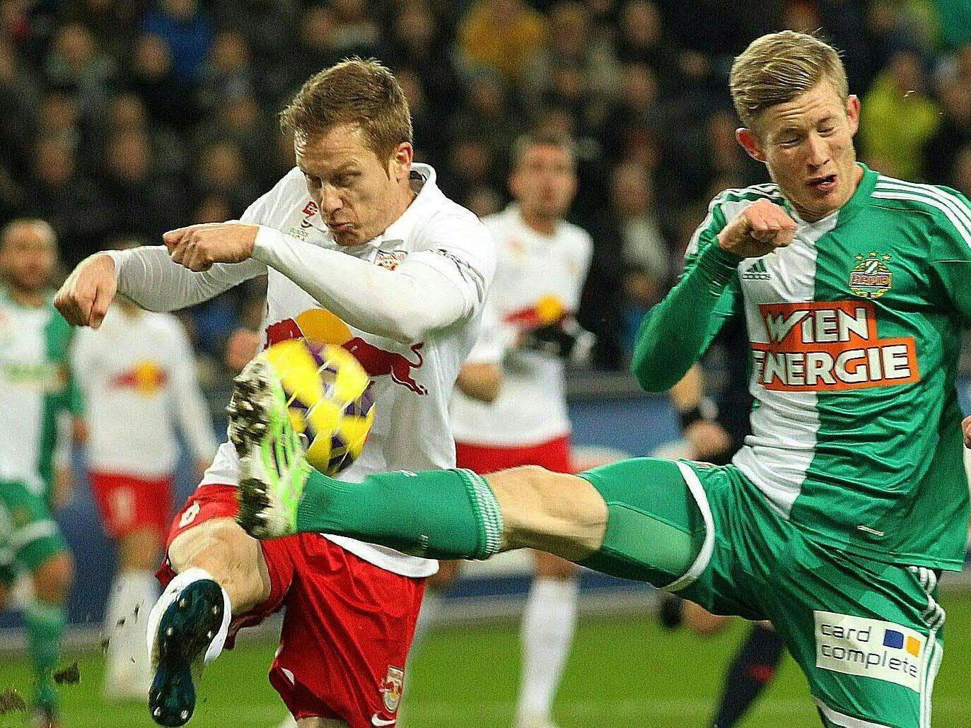 LIVE-Ticker zum Spiel SK Rapid Wien gegen Red Bull Salzburg ab 18.00 Uhr.