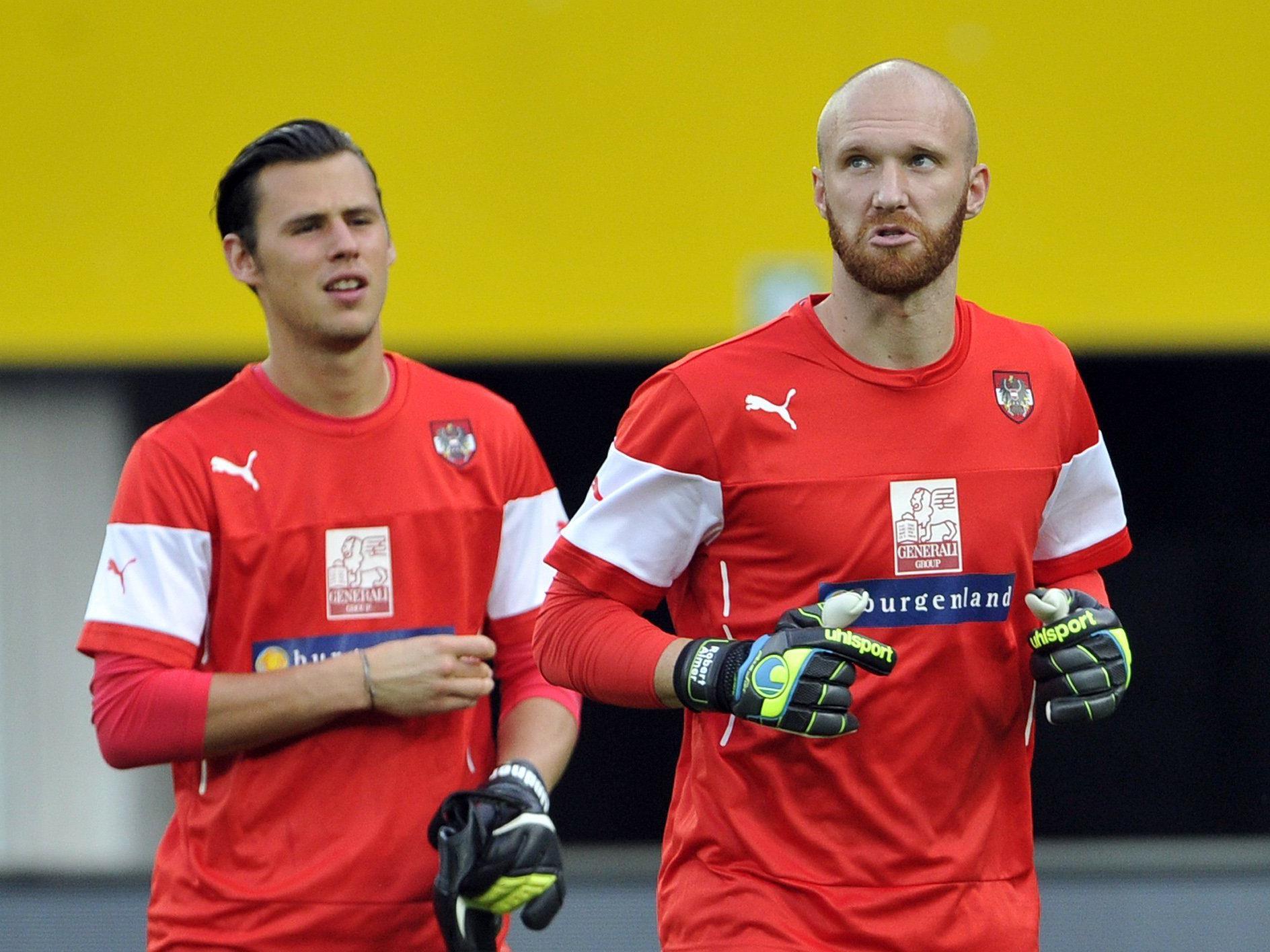 Wer soll Heinz Lindner nachfolgen? Robert Almer (rechts) steht auf der Wunschliste von Austria Wien.
