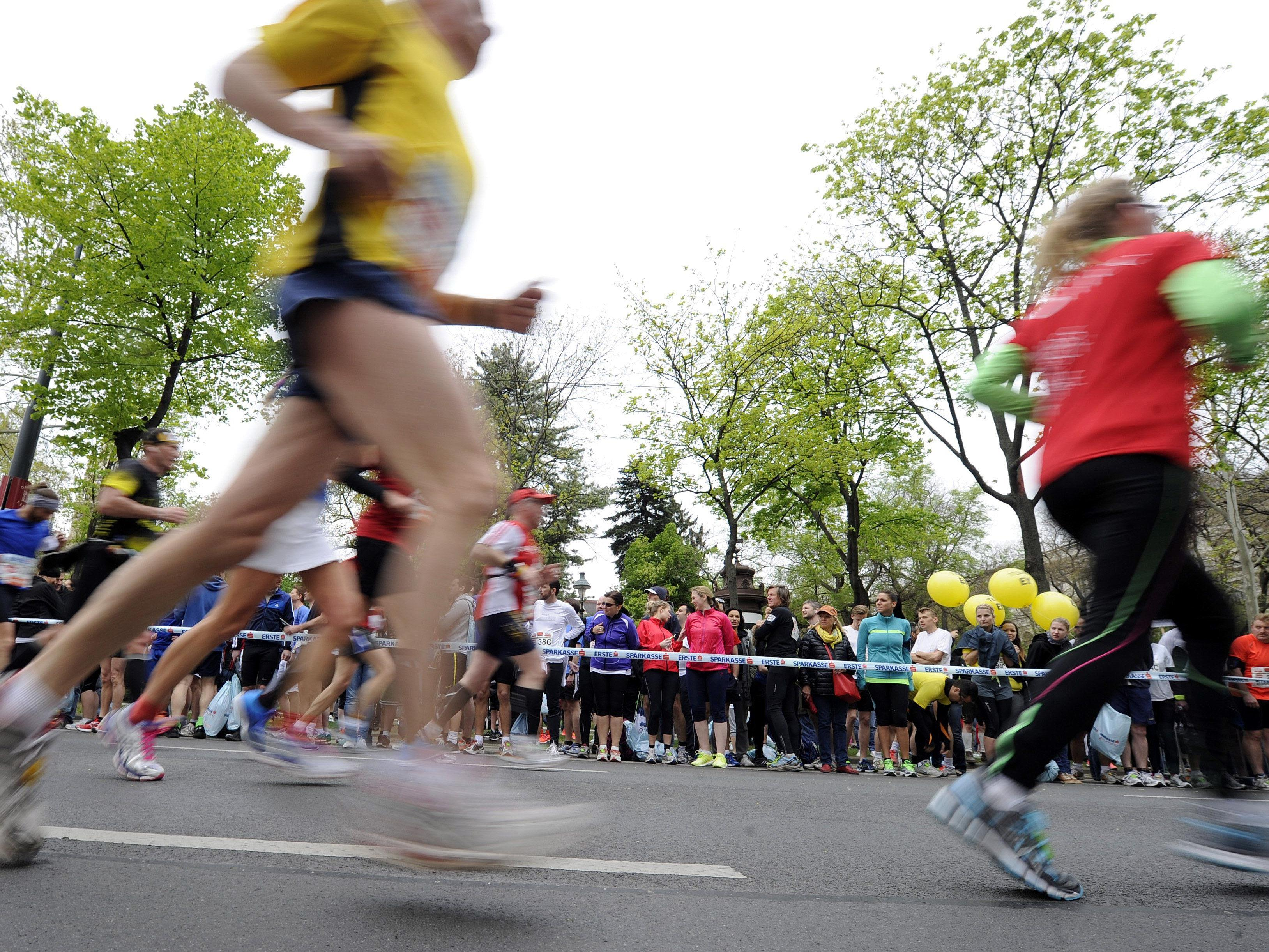 Ab 8.30 Uhr berichten wir LIVE vom Vienna City Marathon 2015.