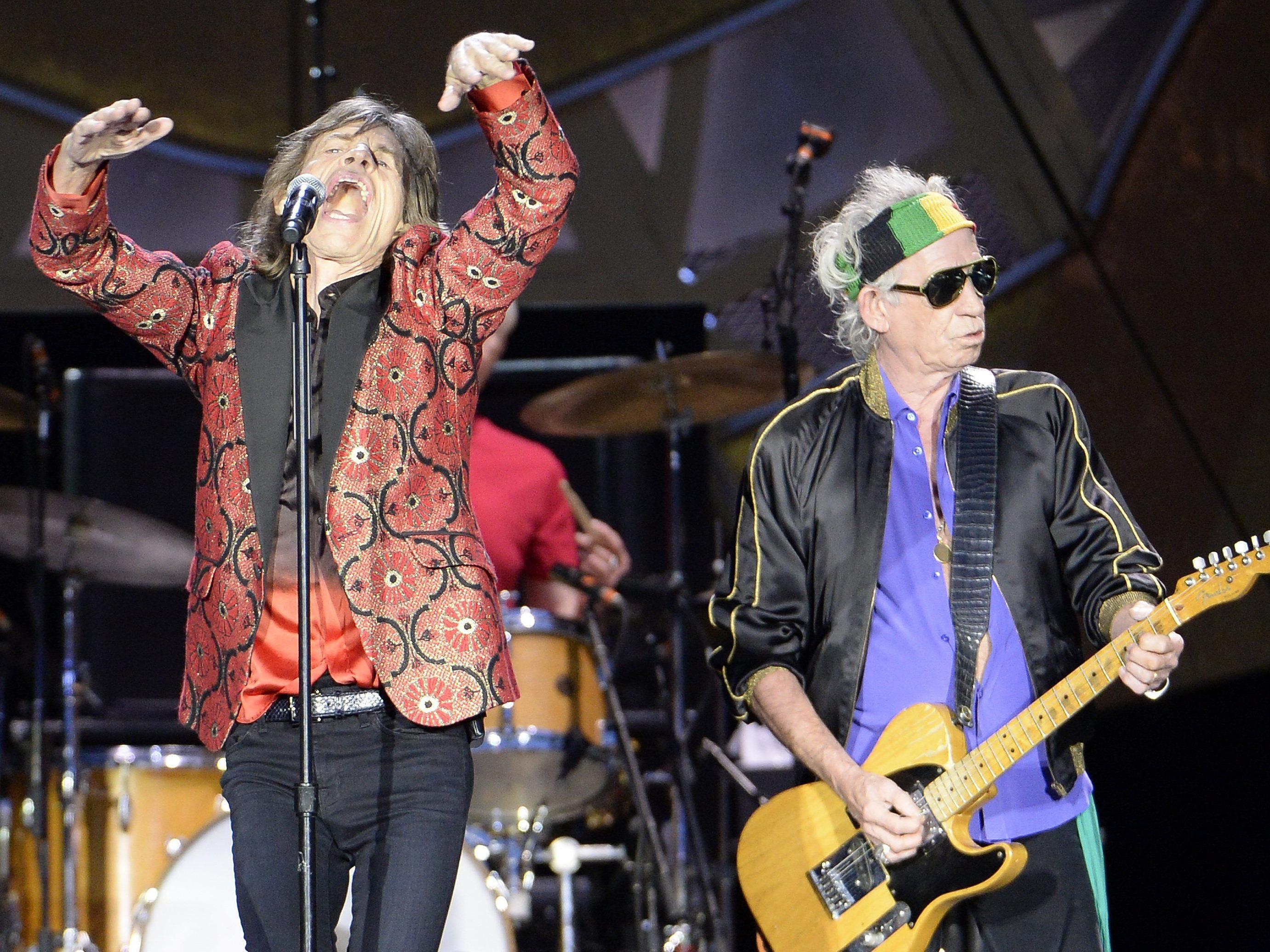 Die Rolling Stones sind ab Mai in Nordamerika auf Tour.