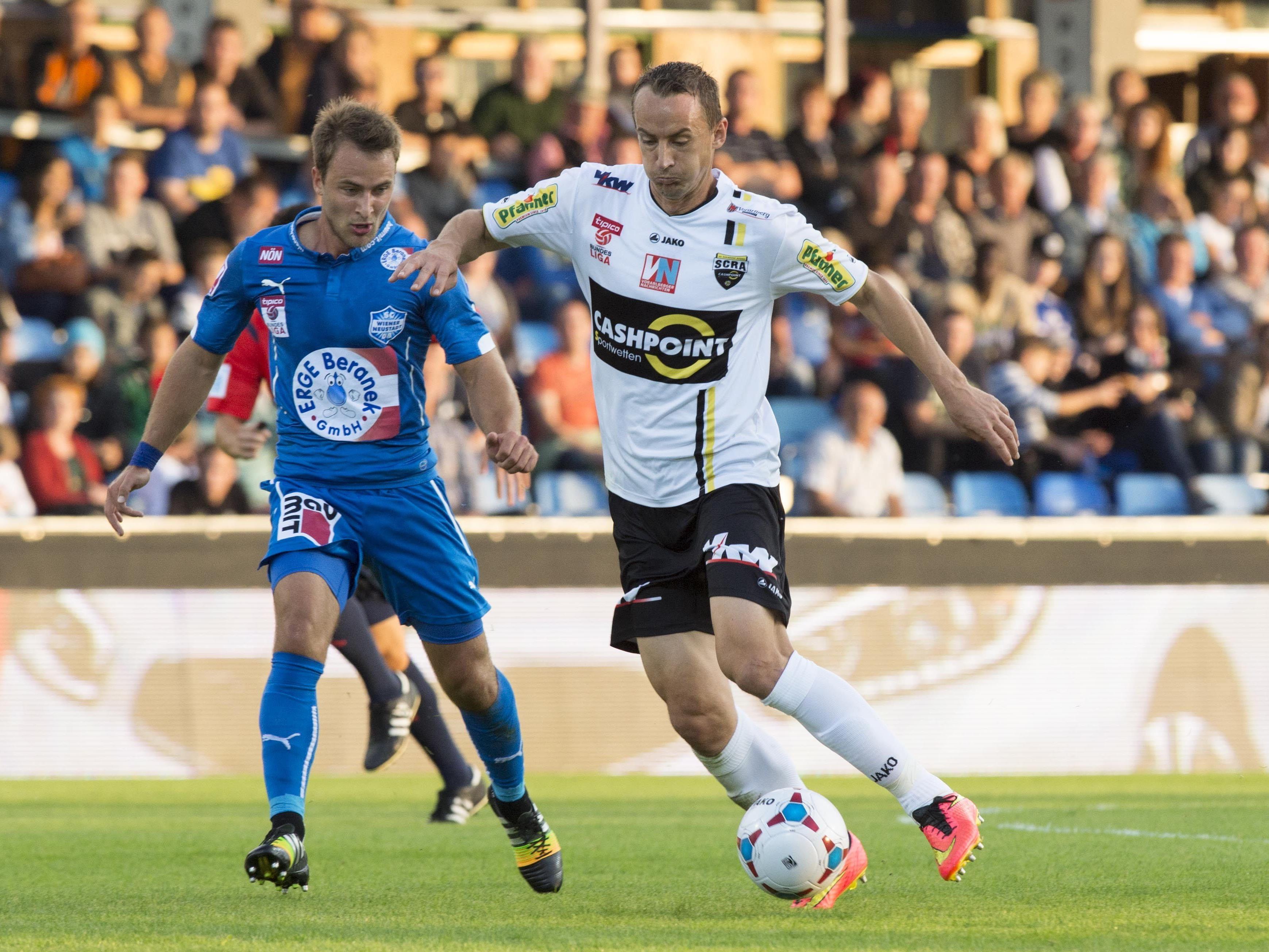 LIVE-Ticker zum Spiel SCR Altach gegen SC Wiener Neustadt ab 18.30 Uhr.
