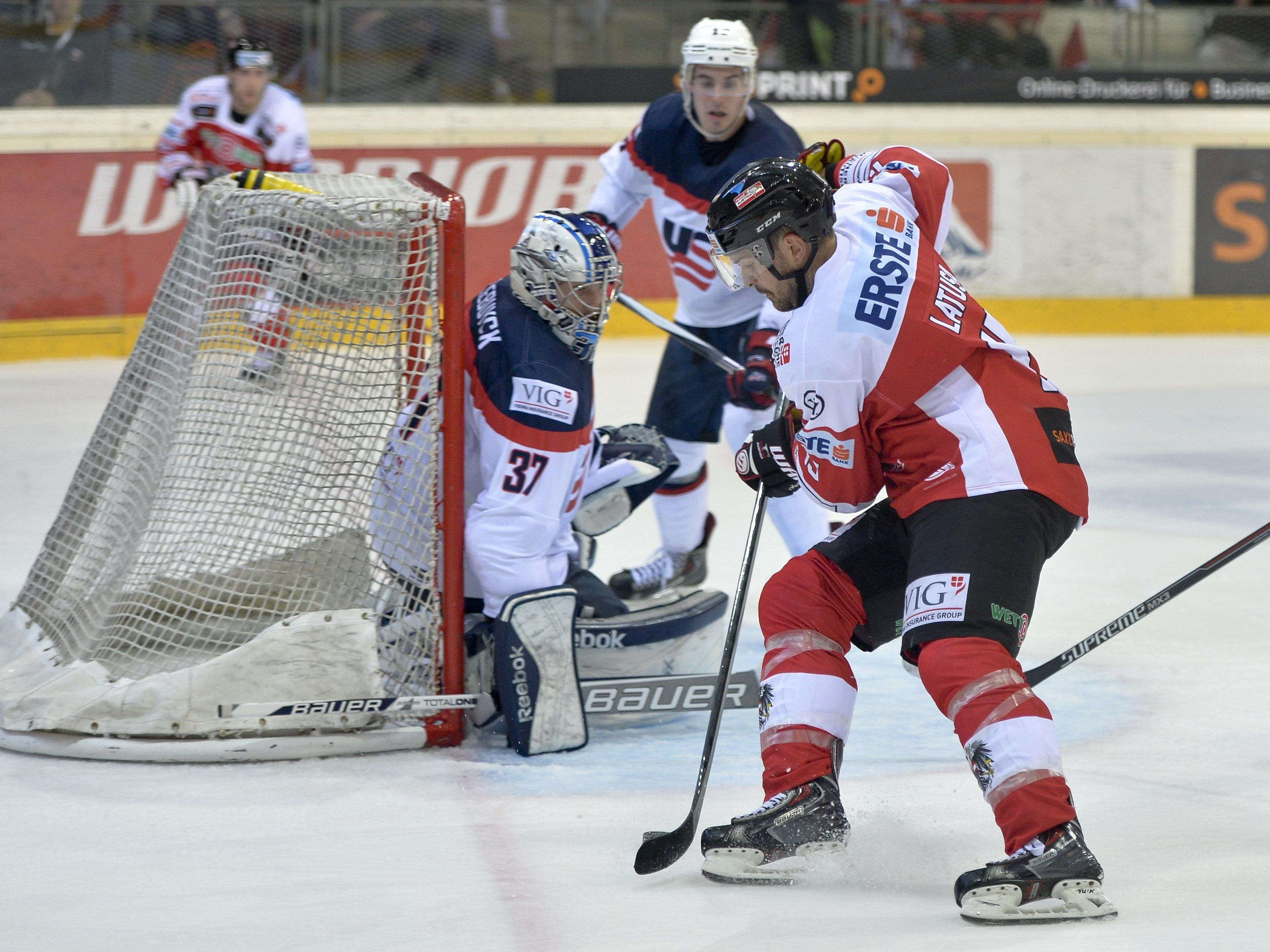 Eishockey: ÖEHV-Team unterlag USA mit 1:4