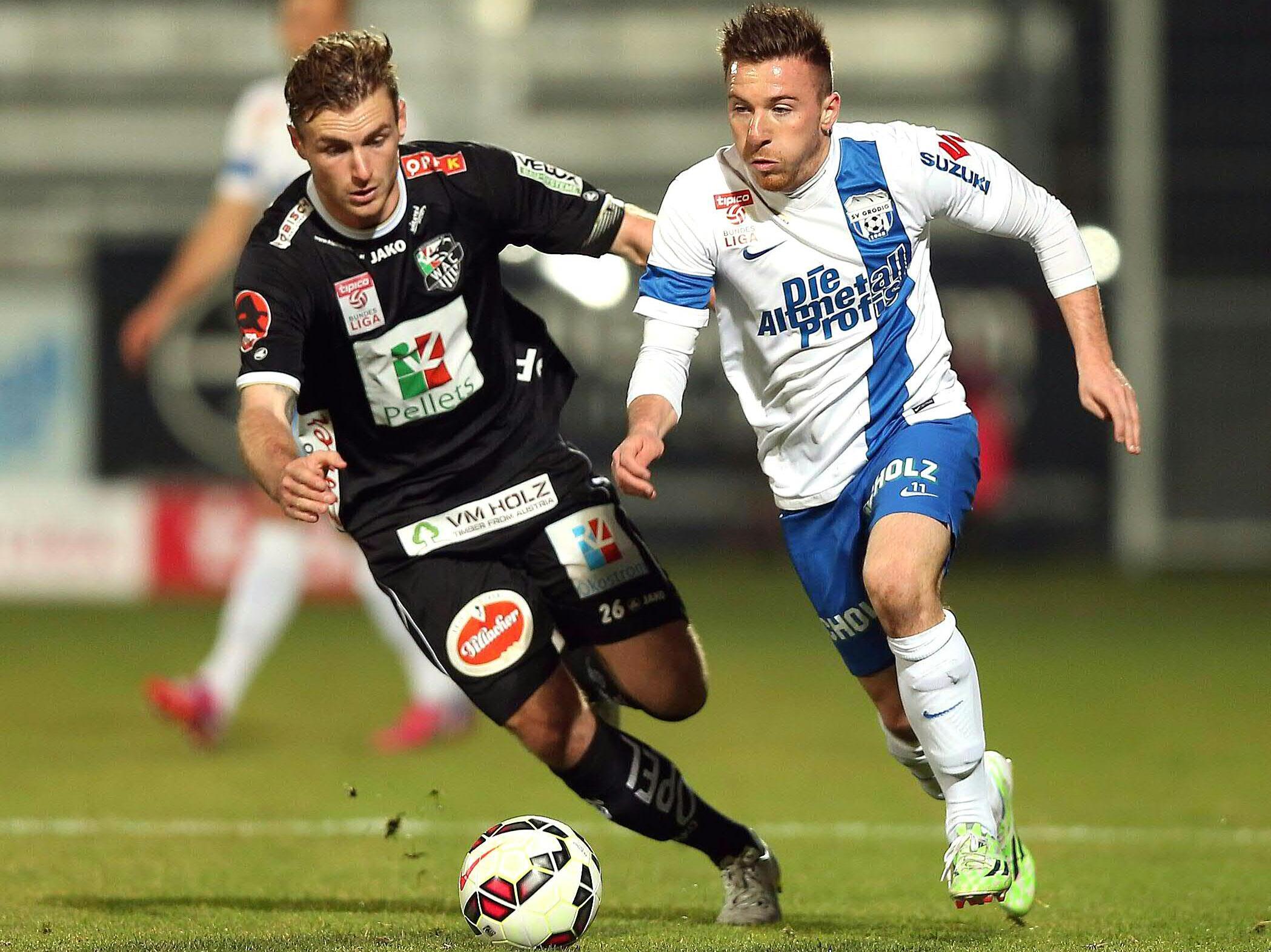 LIVE-Ticker zum Spiel WAC gegen SV Grödig ab 18.30 hr.
