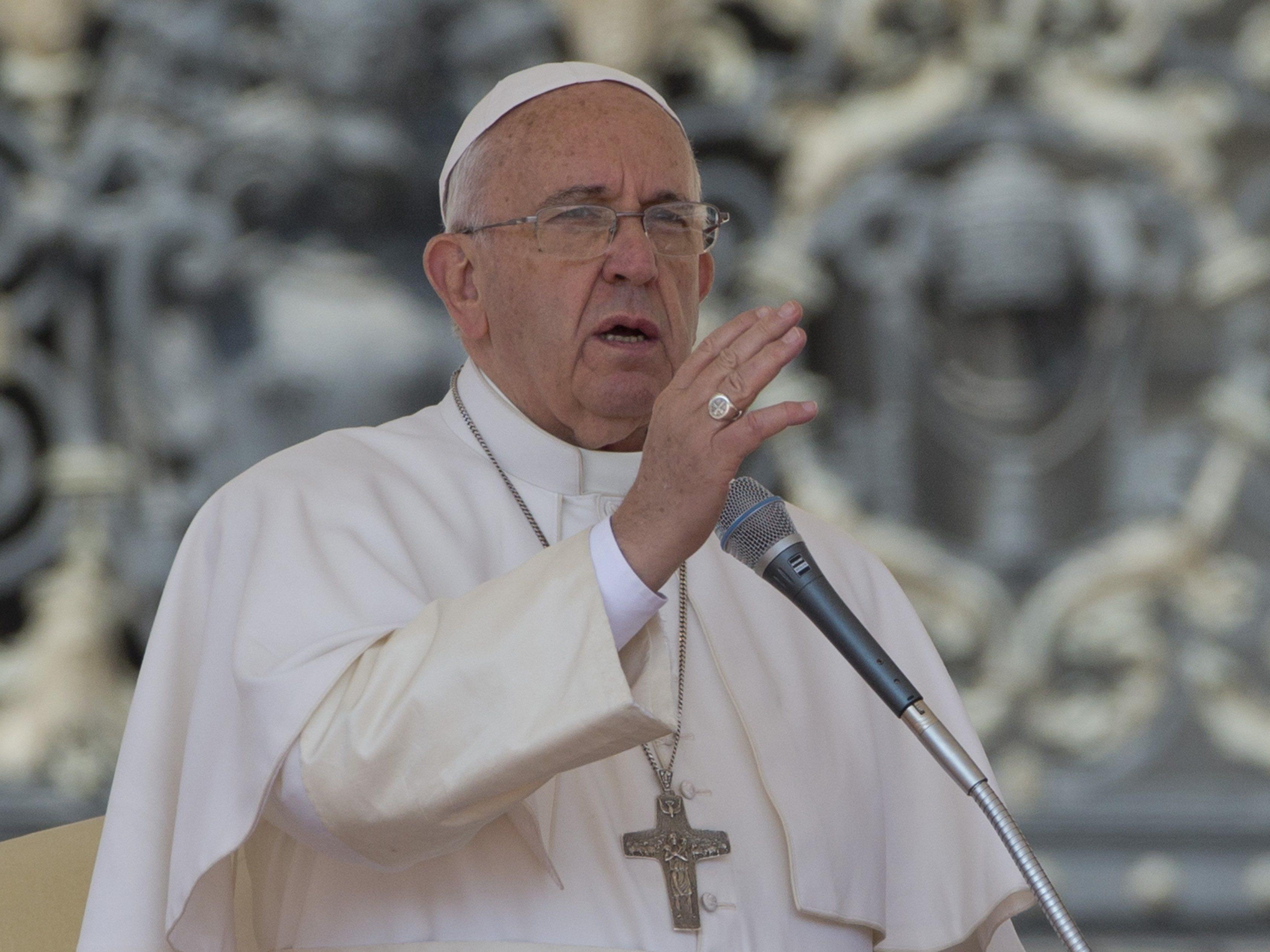 Papst Franziskus nennt das Massaker an den Armeniern den ersten Völkermord des 20. Jahrhunderts