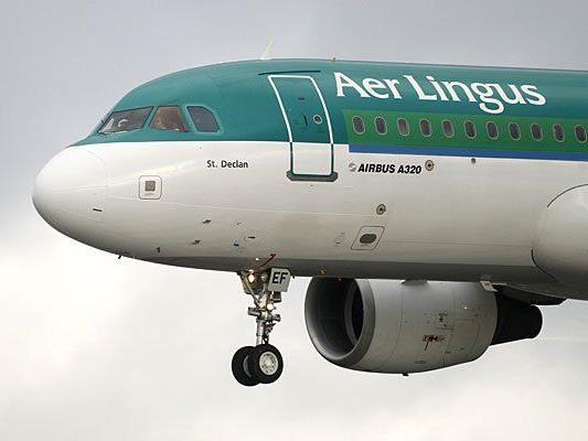 Ein Airbus A320 der Aer Lingus flog nicht bis nach Wien, sondern kehre vorzeitig um