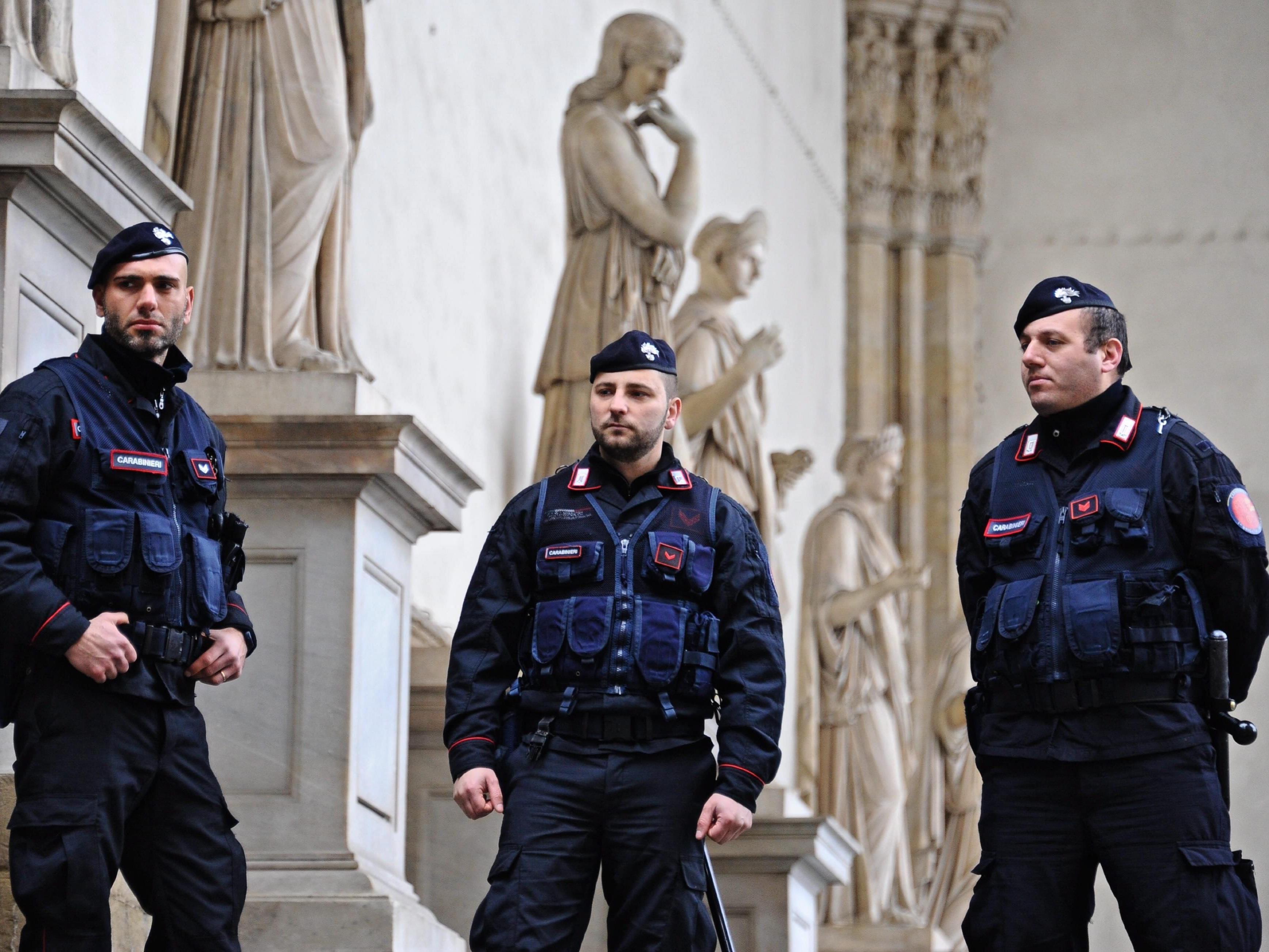 Die italienische Polizei nahm einen gesuchten Österreicher fest.