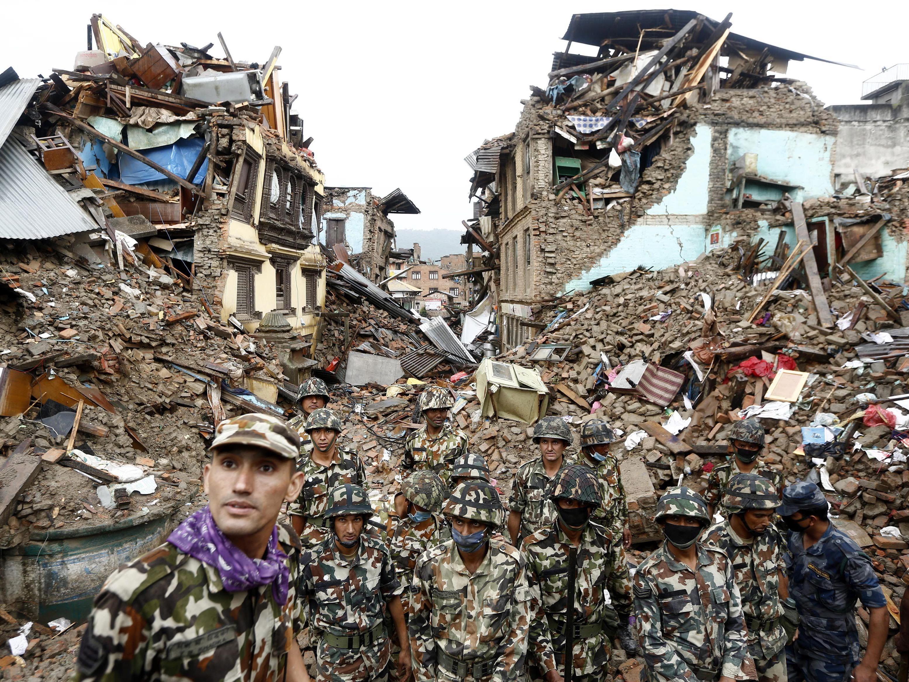 Die Zahl der Toten in Nepal steigt immer weiter.