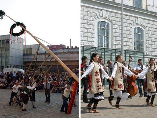 Beim Maibaumfest in Ottakring warten zahlreiche Highlights