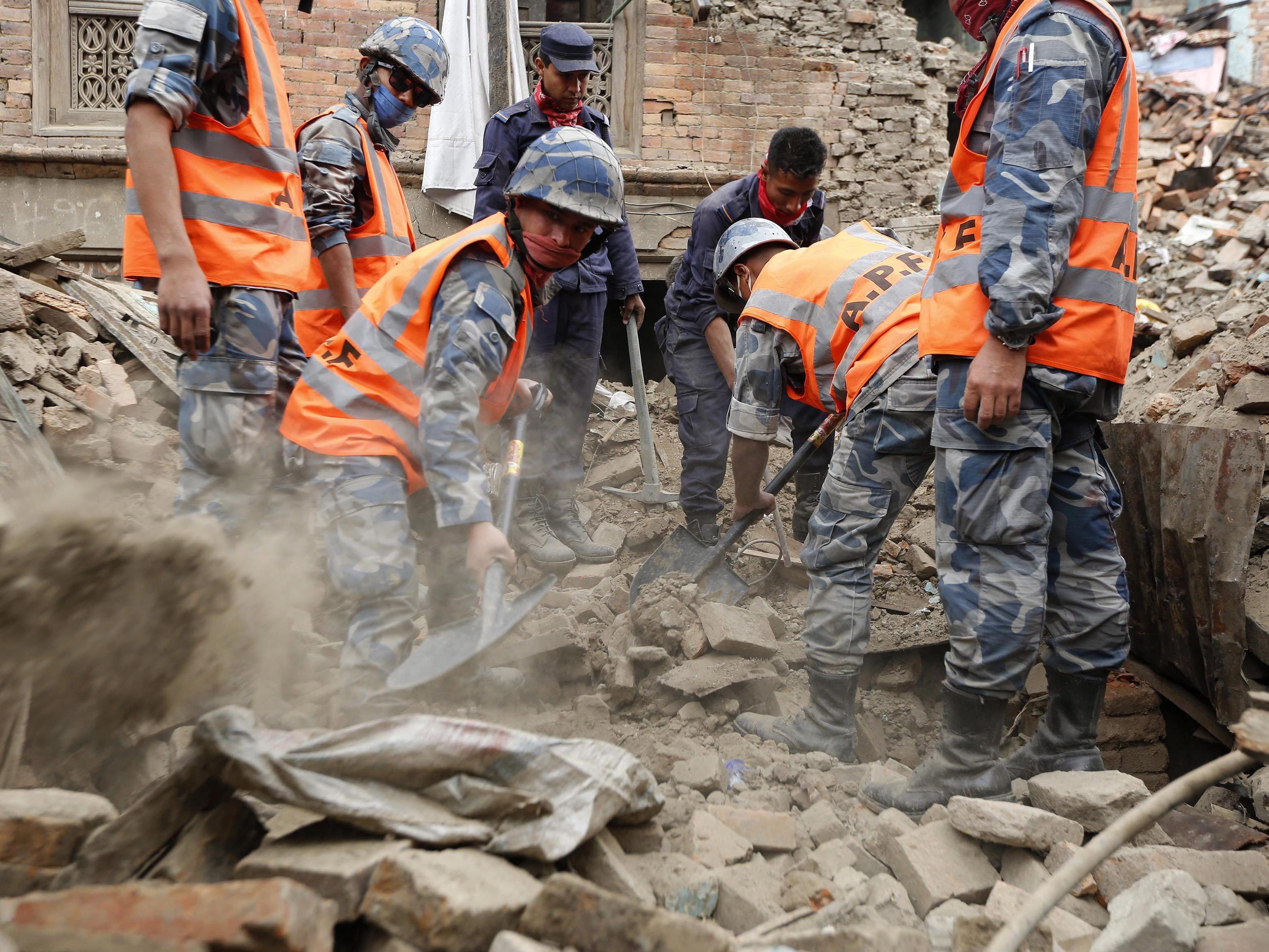 Die Rettungsmaßnahmen in Kathmandu sollen nocheinmal intensiviert werden.