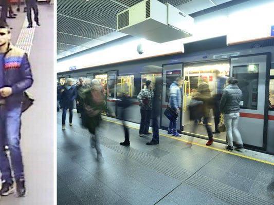 Dieser junge Mann wird nach einer Attacke in der U-Bahn-Station Stephansplatz gesucht