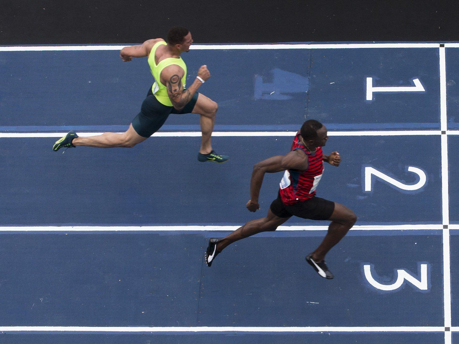 10,12 Sekunden reichten Usain Bolt für den Sieg in Rio.