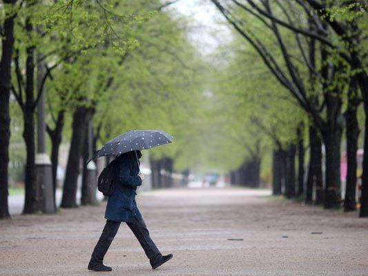 Das Aprilwetter zieht sich weiter in den Mai.