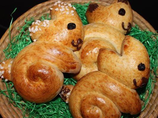 Ein Klassiker Im Osternest Rezept Für Süße Germ Haserl Ostern