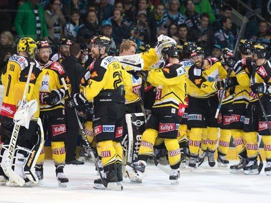 Die Vienna Capitals sind im EBEL-Finale.