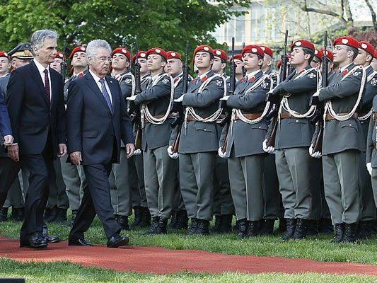 Heinz Fischer hielt eine Rede bei der Gedenkfeier in Wien.