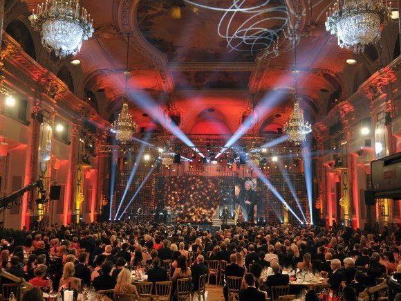 Die Romy Verleihungen finden in der Wiener Hofburg statt.