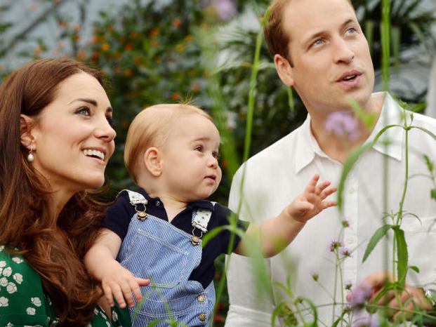 Prince George darf sich auf ein Geschwisterchen freuen