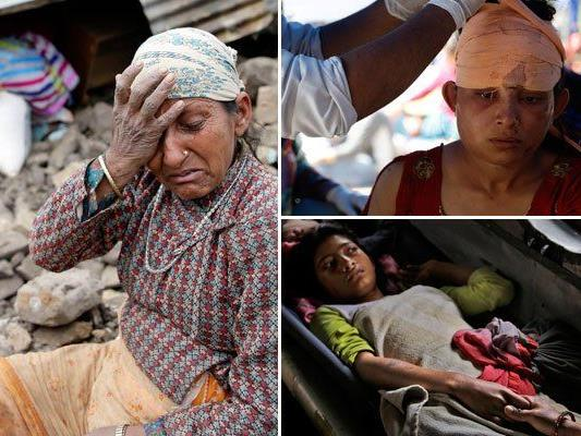 Wie sie den Opfern des Erdbebens helfen können