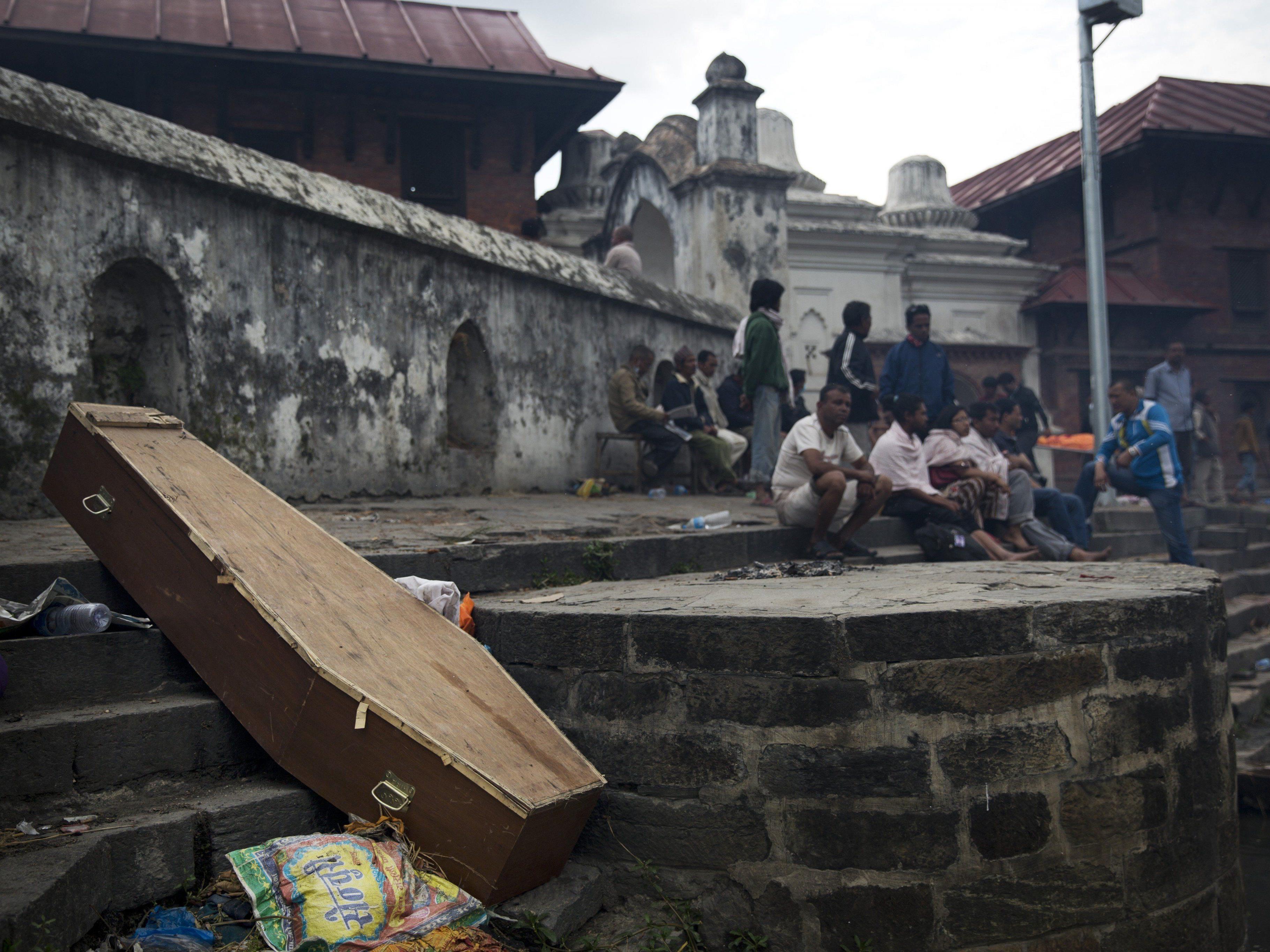 Das schwere Erdbeben in der Himalaya-Region forderte über 2.400 Tote.