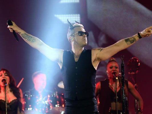 """Teuflisch"" solide Show bei Robbie Williams in Linz."