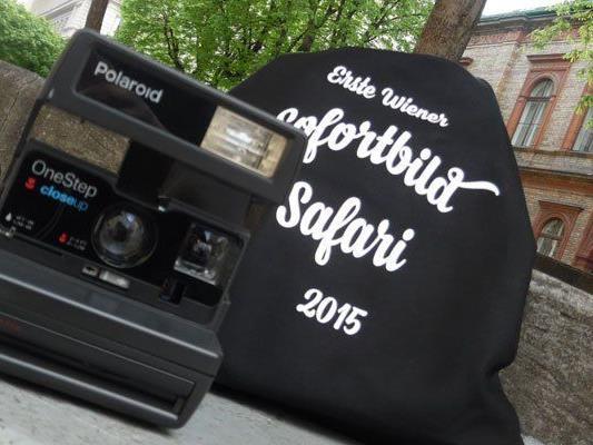 Im April wurde die erste Sofortbild-Safari in Wien veranstaltet.