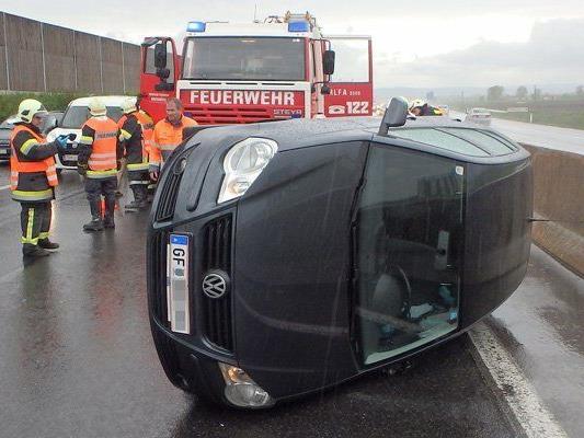 Verkehrsunfall auf der S5 bei Grafenwörth