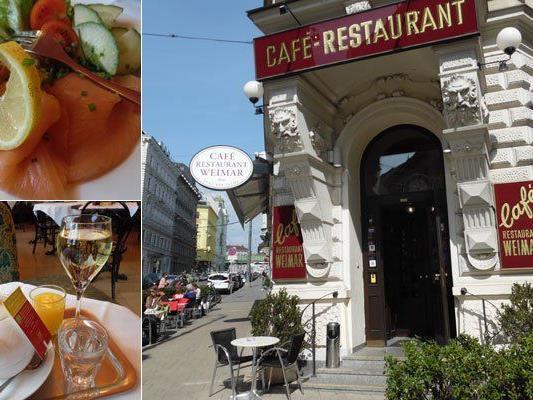Das Café Weimar ist perfekt für Langschläfer geeignet.