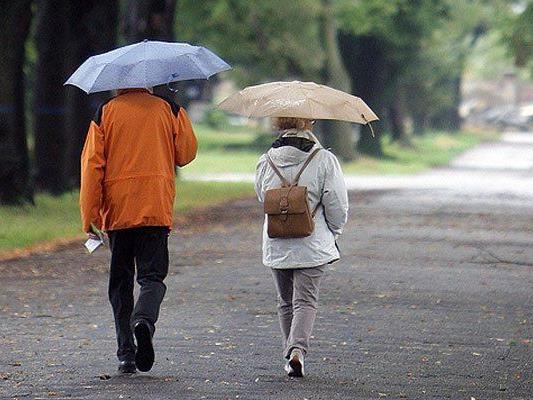 Das Wetter nächste Woche bringt uns etwas Regen.