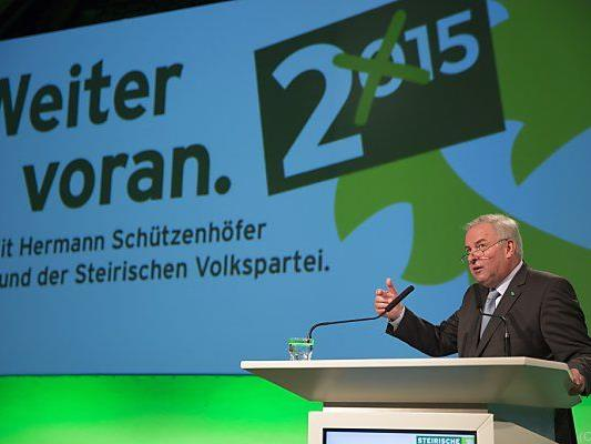 Der steirische ÖVP-Chef Hermann Schützenhöfer