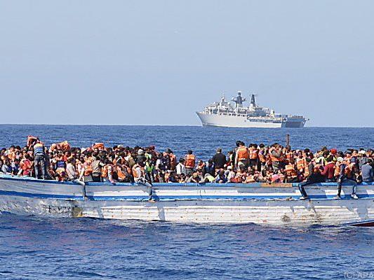 Kein Ende des Flüchtlingsstroms über das Mittelmeer