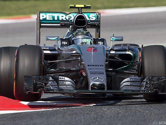 Bestzeit für Nico Rosberg