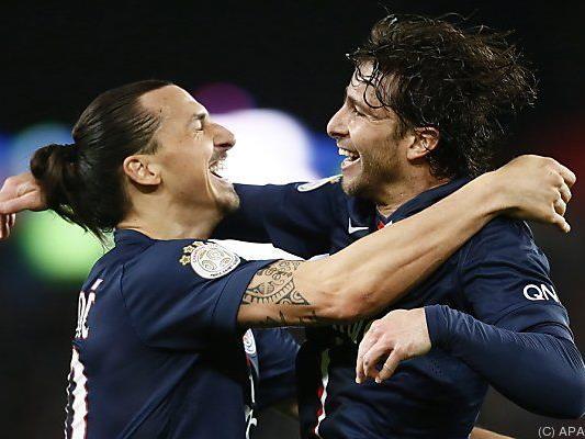 Zlatan Ibrahimovic und Co. haben gut lachen