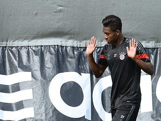 David Alaba trainiert wieder mit seiner Mannschaft