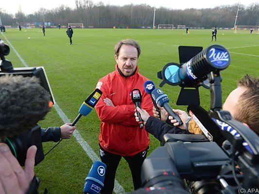 Zorniger war zuletzt Trainer bei RB Leipzig
