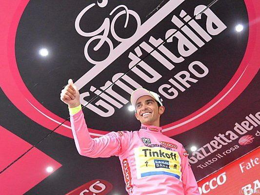 Contador hat bereits vier Minuten Vorsprung