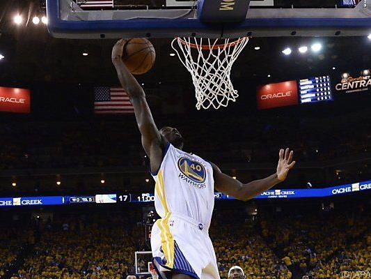 Das NBA-Finale ist komplett: Die Golden State Warriors sind weiter