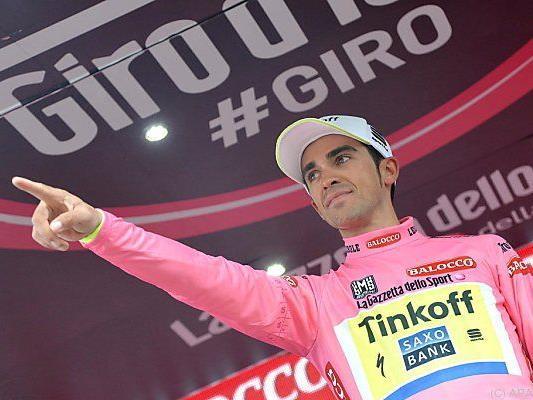 Contador hat den zweiten Giro-Gesamtsieg im Visier