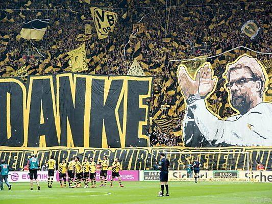 Klopp feierte mit Dortmund zwei Meistertitel