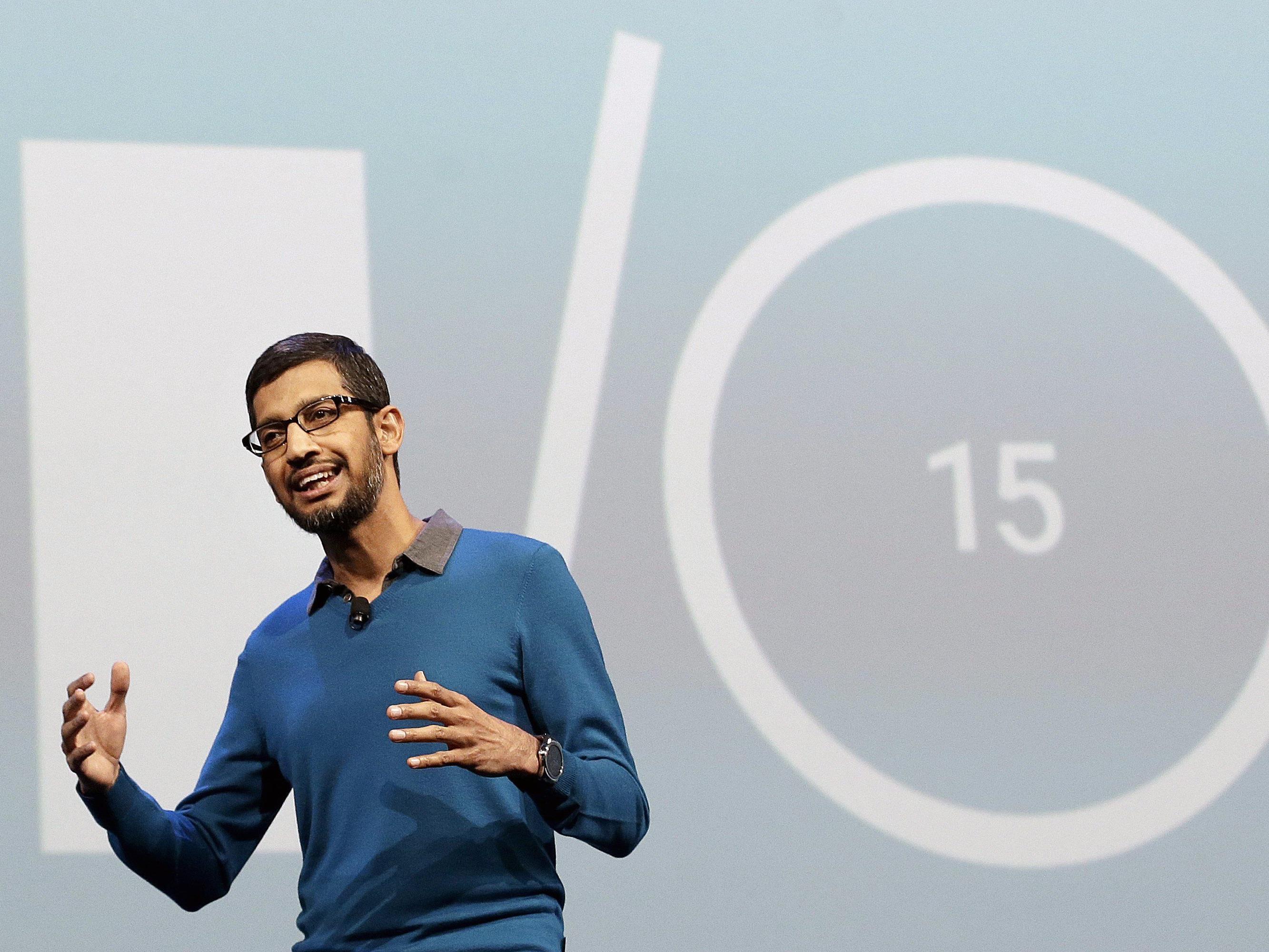 Google liefert sich Kopf-an-Kopf-Rennen mit Apple um Zukunftsmärkte.
