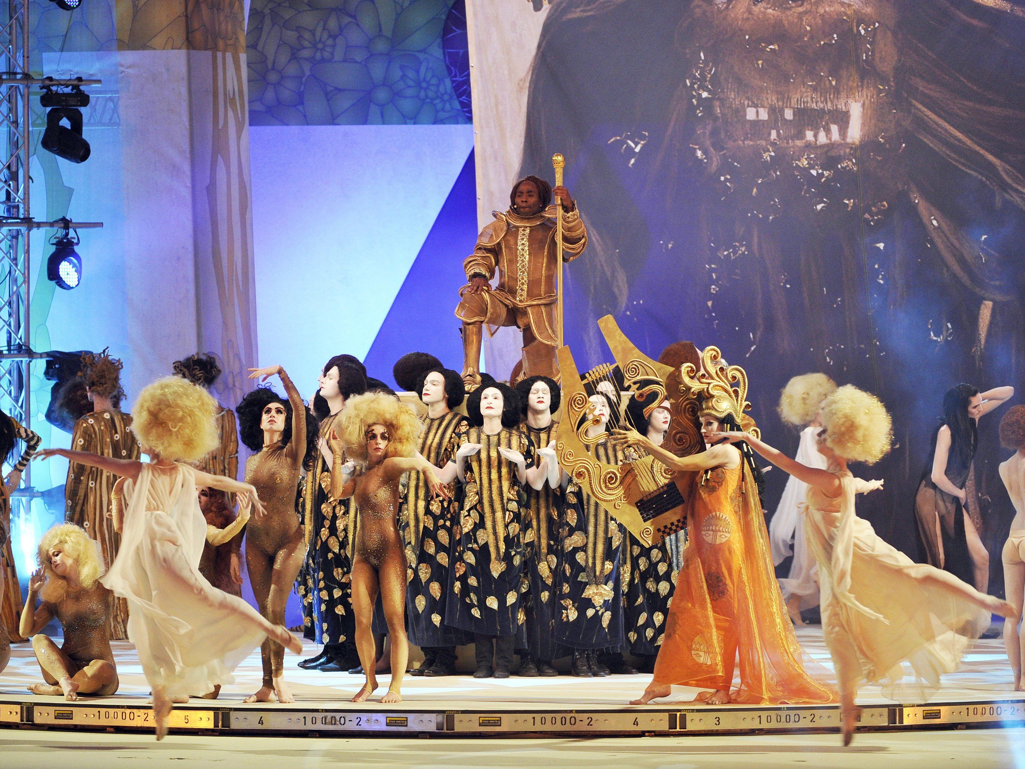 """""""Ver Sacrum"""" in Wien: Das war der 23. Life Ball im Rathaus"""