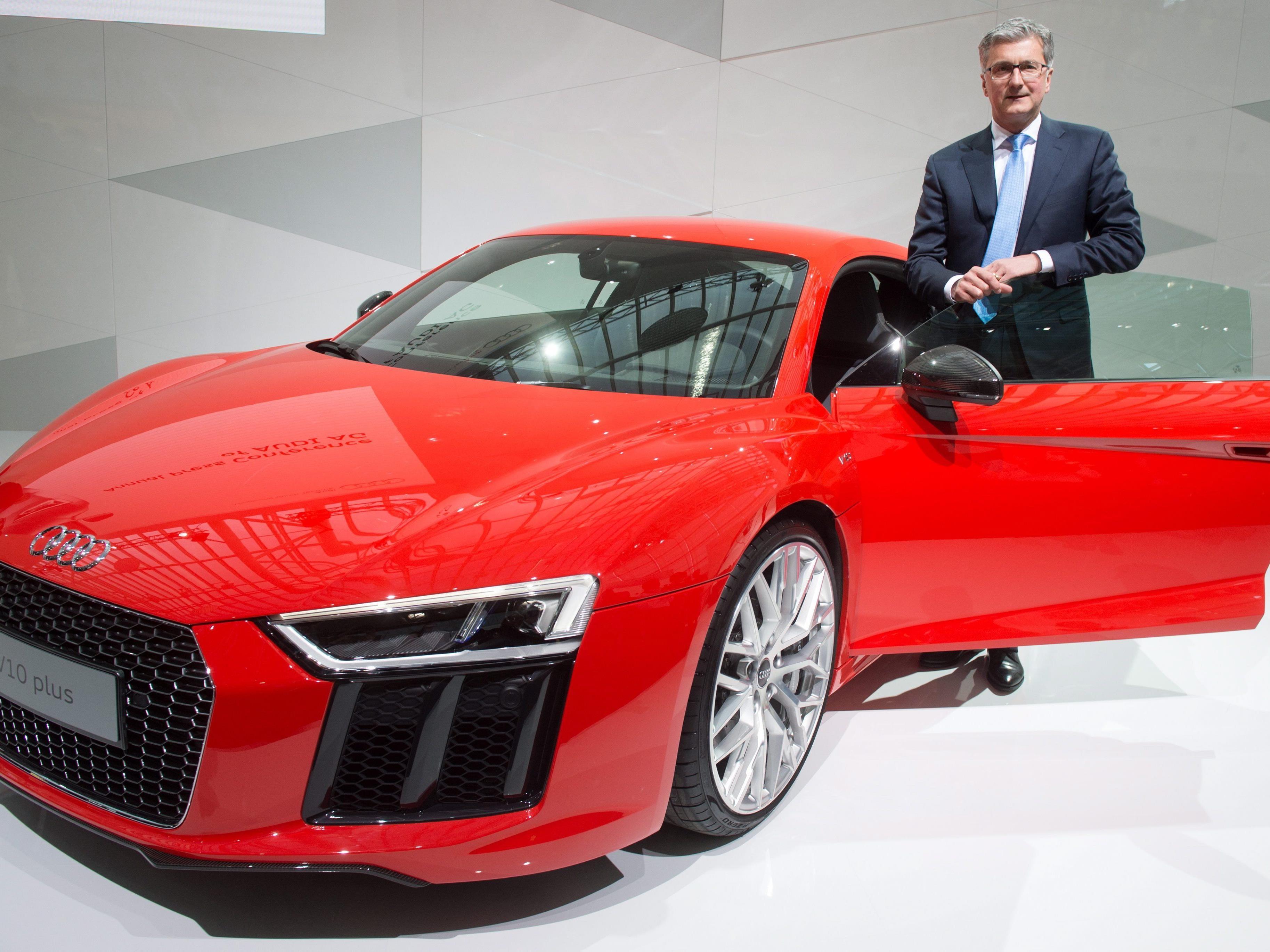 Der Vorstandsvorsitzende des deutschen Autoherstellers, Rupert Stadler.