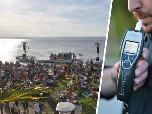 Beim Surf-Worldcup in Podersdorf wurde zwei Wochen lang Party gemacht - danach hagelte es Anzeigen wegen Alkohol am Steuer