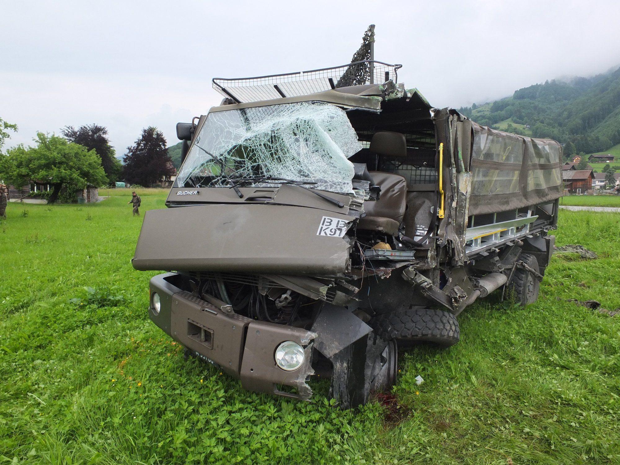 Unfall forderte Verletzte.