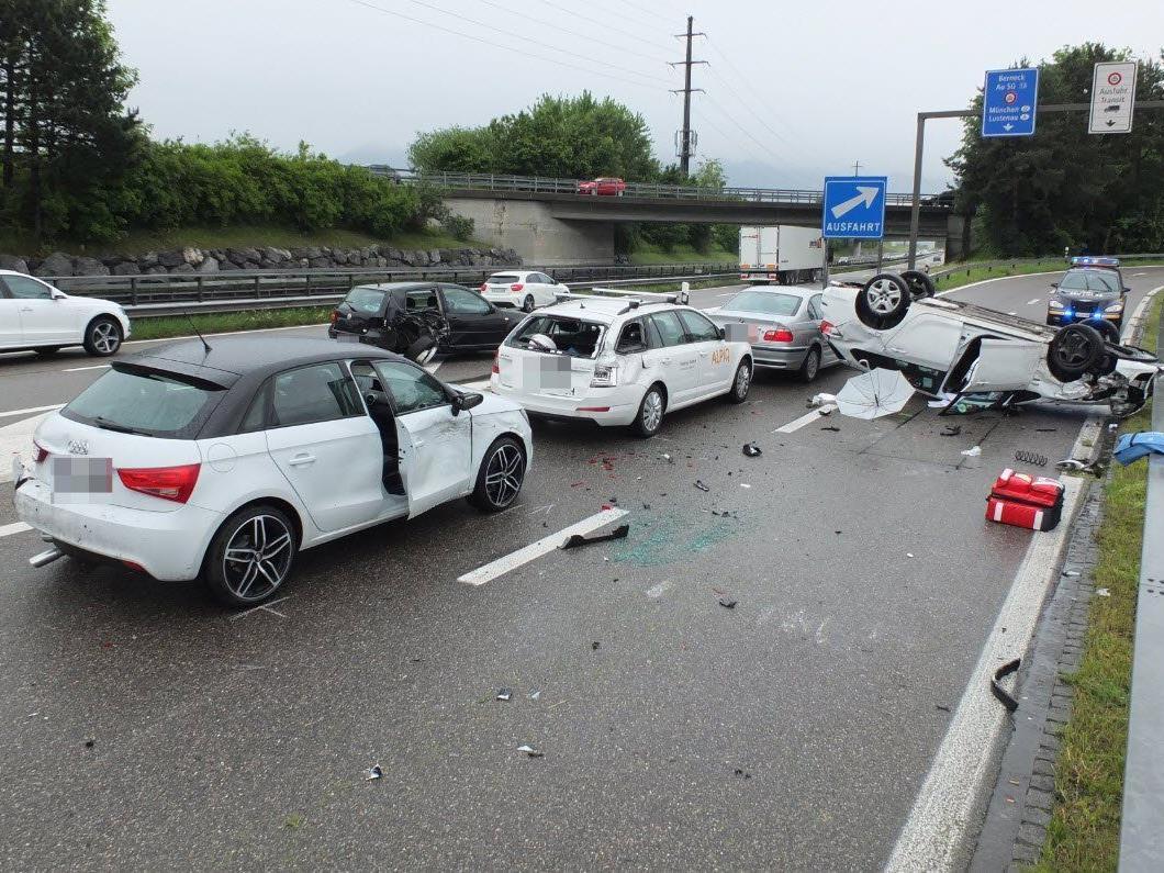 Schwerer Unfall im benachbarten Au