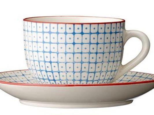 Unter anderem wird diese Teetasse verlost.