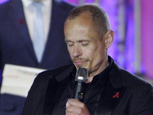 Mit seiner Rede wollte Gery Keszler Betroffenen Mut machen.