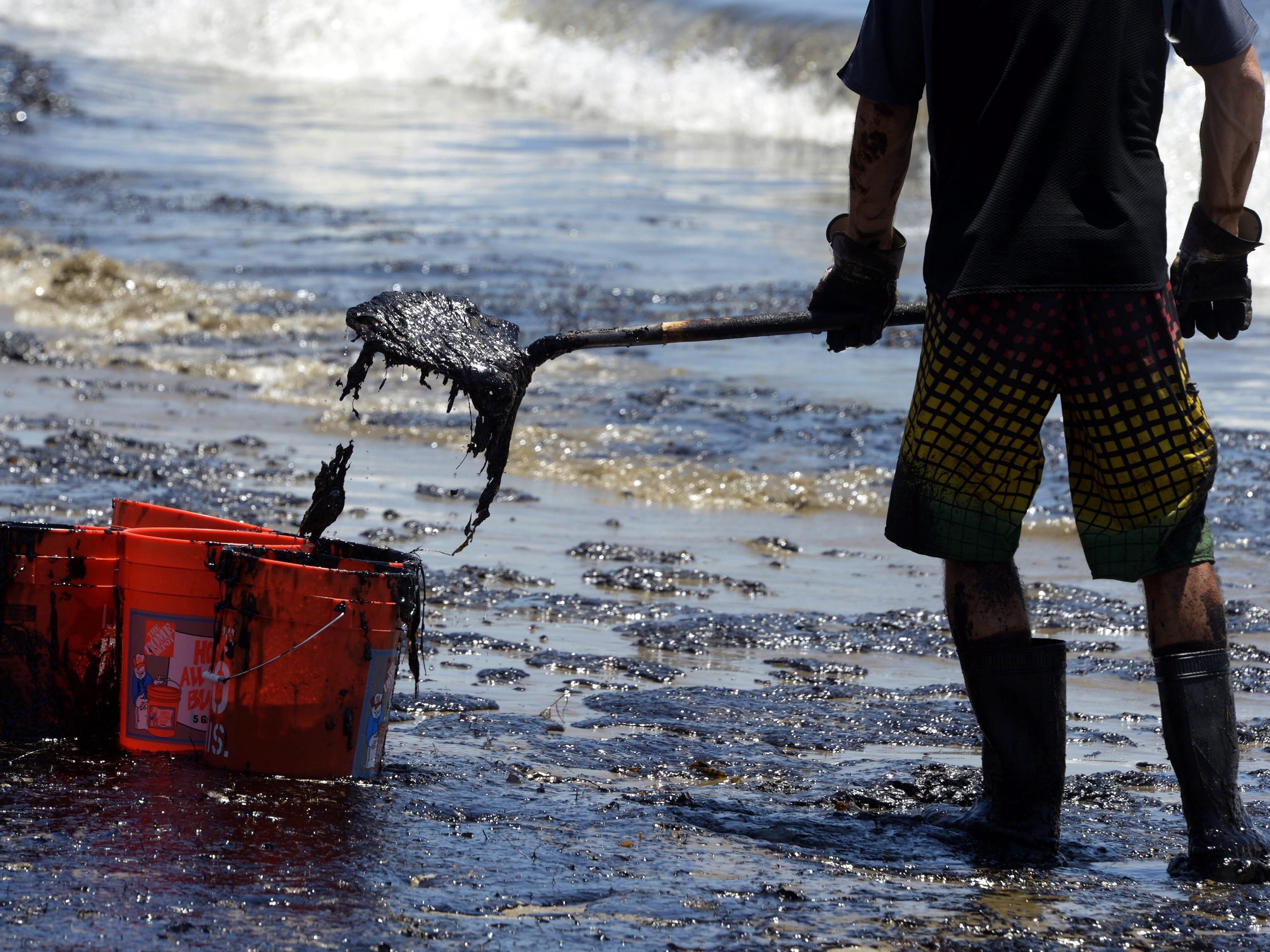 Pipeline-Bruch vor kalifornischer Küste