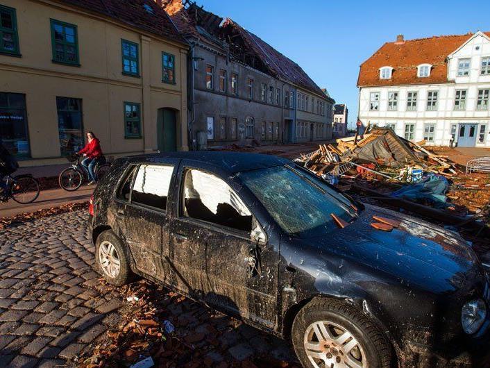 Hoher Millionenschaden nach Tornado in Bützow.
