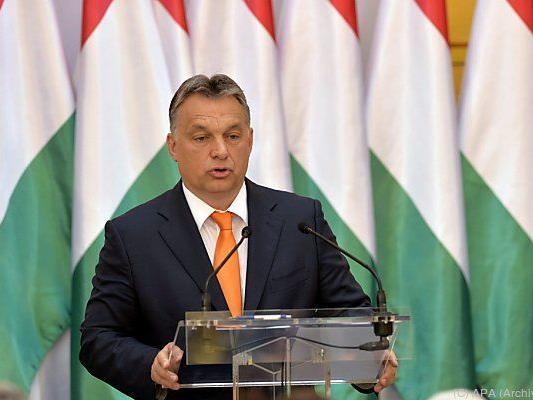 Kampagne der Regierung von Premier Orban